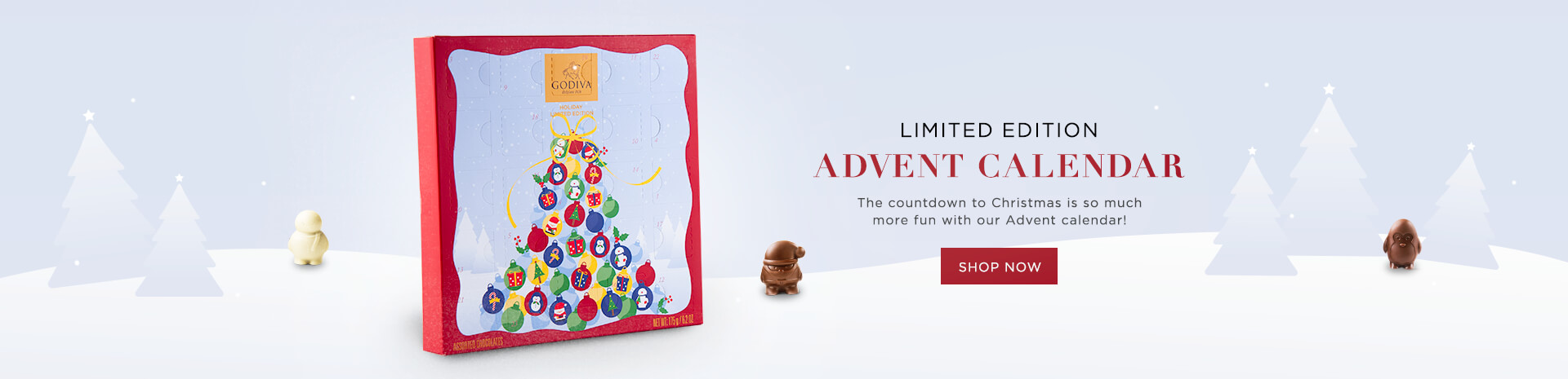 Godiva Limited Edition Advent Calendar
