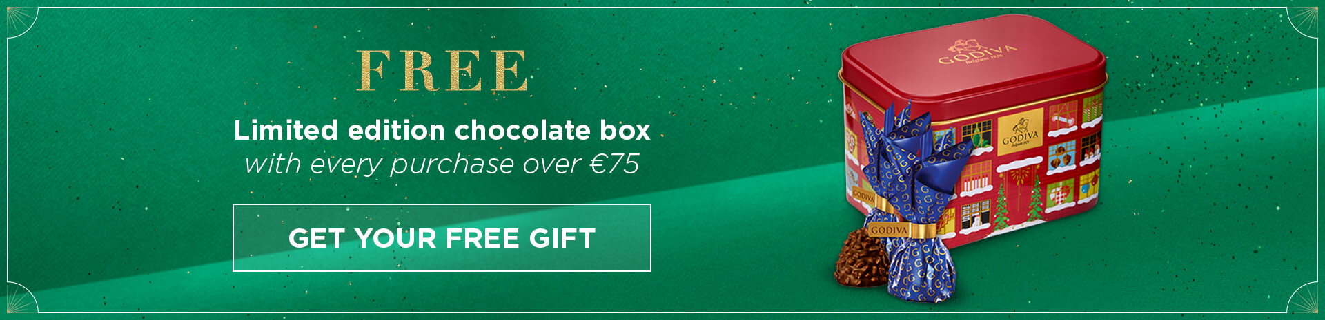 Free chocolate box over €75