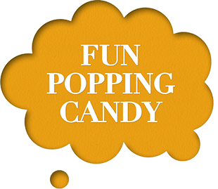 Fun popping candy