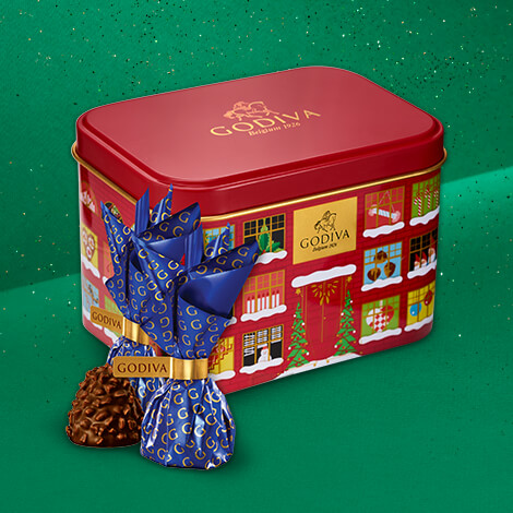 Free chocolate box with every purchase over €75