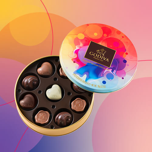 Free limited edition chocolate box offered for every purchase over �50