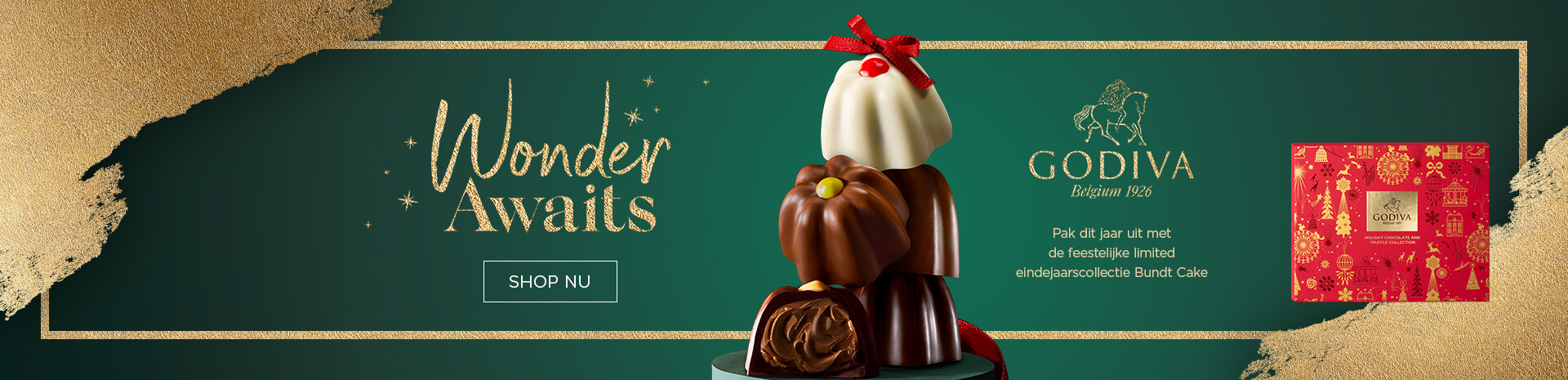 Wonder awaits Christmas 2019 - Godiva