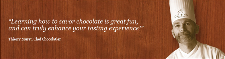 The art of tasting chocolate