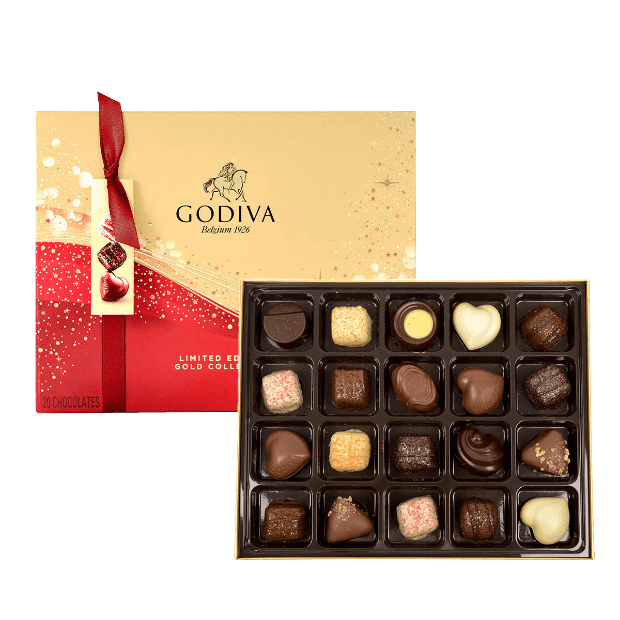 Godiva Limited-Edition Sparkles Christmas Collection
