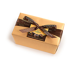 Godiva Wrapped Ballotin All Dark, 500 g