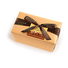 Godiva Gold Wrapped Ballotin All Milk, 500 g