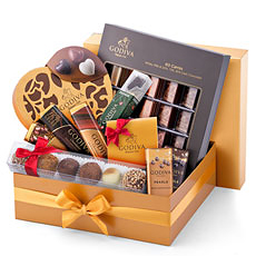 Godiva Christmas Gold Luxury Box