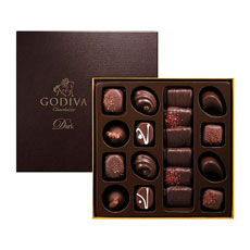 Godiva Connoisseur Donkere Chocolade 18 st.