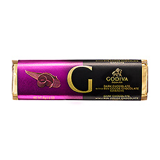 Godiva Bar Dark Chocolate Ganache 85%, 45 g