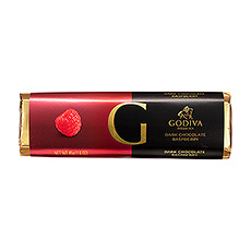 Godiva Bar Dark Chocolate Raspberry