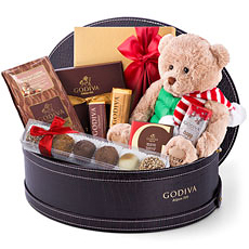 Discover the wonderful world of the famous Belgian chocolatier Godiva. With so much to share, this impressive Godiva gift basket is the chocolate gift that every family wants to receive!