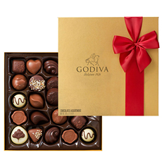 GOCH Valentine 2015 Gold Rigid Box 24 Chocolates