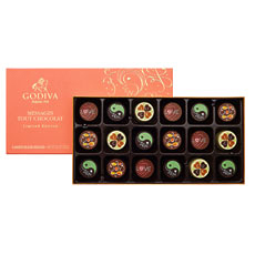 Celebrate special occasions in a fun, unique way with Godiva's brand new Message Tout Chocolates.