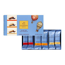 Godiva Sablés Biscuits Assortment, 18 pcs