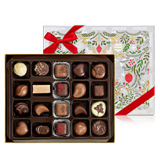 Godiva Christmas assorted chocolates, 20 pcs