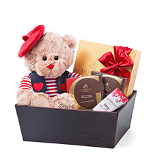 Godiva Cuddly Lovers Box
