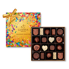 Celebrate Godiva's 90th anniversary with this limited edition box of 18 pieces.