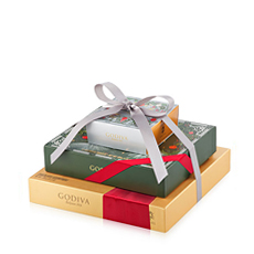 Godiva Christmas Chocolate & Truffle Gift Tower