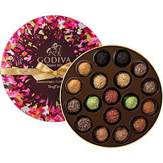 Godiva's Collection Anniversaire 90 AnsTruffles, 18 pcs