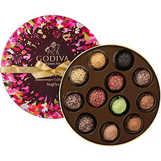 Godiva's Collection Anniversaire 90 AnsTruffles, 12 pcs