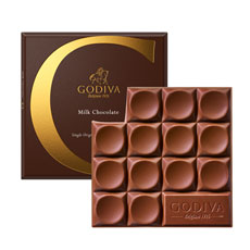 Godiva Tablet Milk Chocolate, 79 g