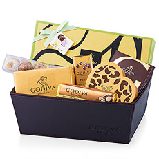 What better way to show her how much you love her than with luxury Godiva chocolates? A signature Godiva gift hamper is filled with a delicious assortment of her favorite assorted chocolates, truffles, Pearls, and more .