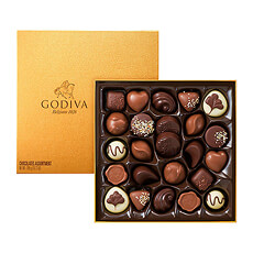 Godiva Gold Rigid Box