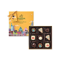 Wonderful City Dreams Collection is an international culinary journey of pure chocolate pleasure.