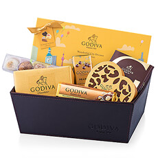 Make a statement with this exquisite Godiva gift hamper featuring the new limited-edition Wonderful City Of Dreams, along with a tempting collection of Godiva favorites.