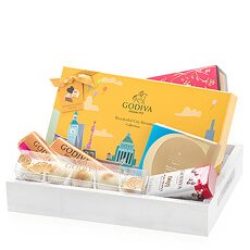 Go on a world tour with the Wonderful City Dreams gift set. The eye-catcher of this gift is the Wonderful City Dreams gift box with a world of taste sensations.