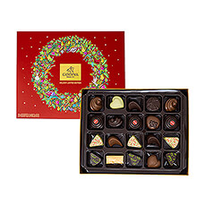 This finely balanced and sumptuous selection of 20 Godiva chocolates will enhance a sense of indulgence during this special time of year.