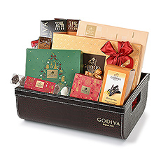 Indulge in Godivas finest chocolates this Christmas.