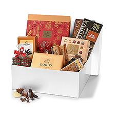 Be the star of the office and treat your colleagues with the best Christmas chocolates from Godiva.