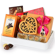 Enjoy a stylish tray full of delicious chocolates!