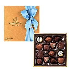 Godiva Father's Day : Gold Rigid, 14 pcs