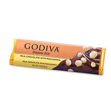 Godiva Bar : Milk Chocolate & Macadamia Nuts, 45 g