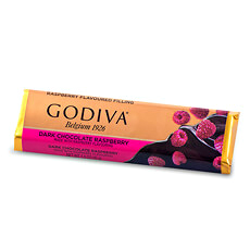 Godiva Bar Dark Raspberry Chocolate, 45 g
