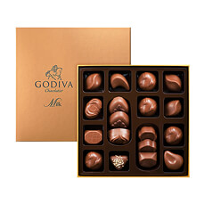 Godiva Connoisseur Milk Chocolate, 18 pcs