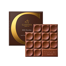 Godiva Tablet : Milk Chocolate, 79 g
