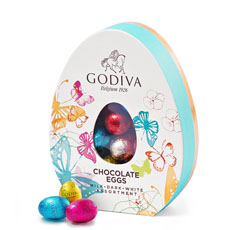 Godiva Easter Assorted Egg Box, 20 pcs