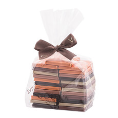 Godiva Christmas 2017 : Cello Bag Carrés, 25 pcs