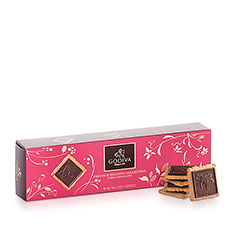 Godiva Kekse Prestige Collection Dunkle Schokolade, 100 g