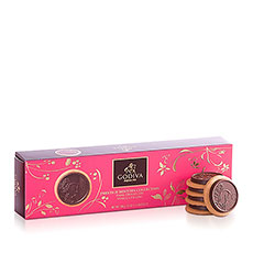 Godiva Biscuits Prestige Collection Chocolat Noir Vanille, 100 g