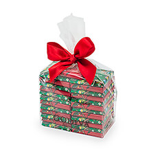 Godiva Cellobag Christmas carrés, 25 pcs