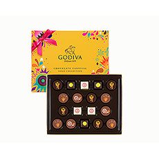 Godiva Carnival Gold Collection, 18 Piezas