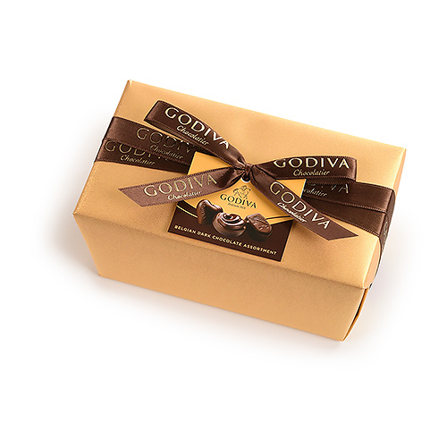 Godiva Wrapped Ballotin All Dark 500 g
