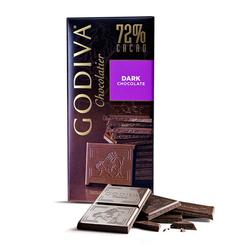Godiva Tablet Dark Chocolate 72%