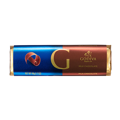 Godiva Bar Milk Chocolate, 49 g