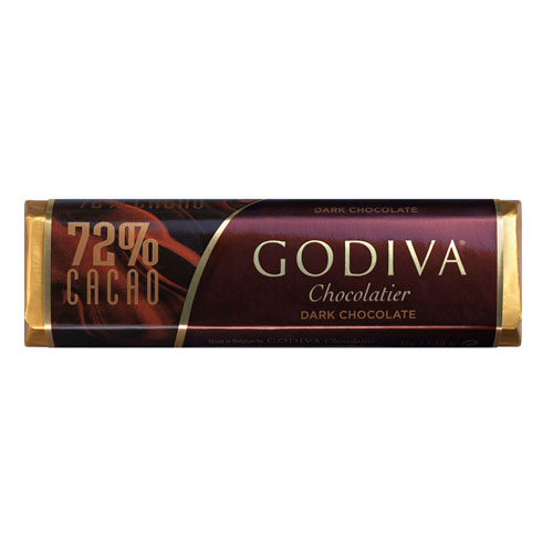 Godiva Bar Dark Chocolate 72%