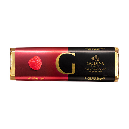 Godiva Bar Dark Chocolate Raspberry, 45 g